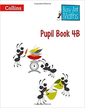 Busy Ant Maths Pupil Book 4B - фото книги