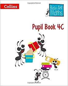 Посібник Busy Ant Maths Pupil Book 4C
