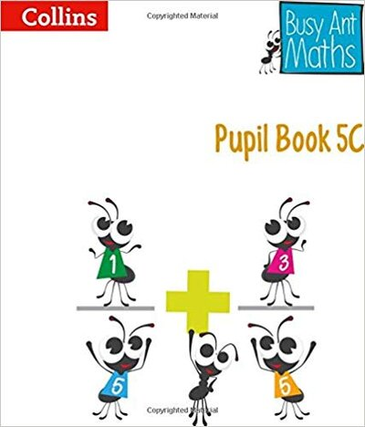 Посібник Busy Ant Maths Pupil Book 5C