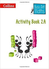 Busy Ant Maths Year 2 Activity Book 2A - фото обкладинки книги