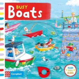 Busy: Boats - фото книги