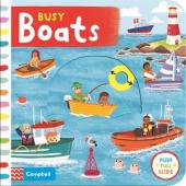 Busy Boats - фото обкладинки книги