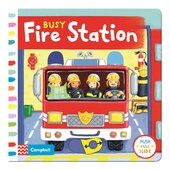 Busy: Fire Station - фото обкладинки книги