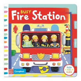 Busy: Fire Station - фото книги
