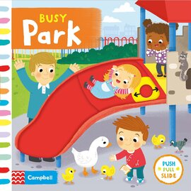 Busy: Park - фото книги