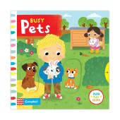 Busy: Pets - фото обкладинки книги