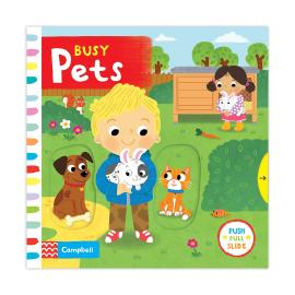 Busy: Pets - фото книги
