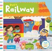 Busy Railway - фото обкладинки книги