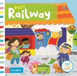 Busy Railway - фото книги