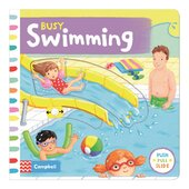 Busy: Swimming - фото обкладинки книги