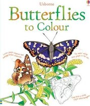 Книга Butterflies to Colour