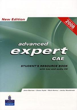 CAE Expert New Work book with key+CD (робочий зошит+аудіодиск) - фото книги