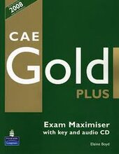 CAE Gold PLus Maximiser and CD with key Pack (підручник+робочий зошит) - фото обкладинки книги