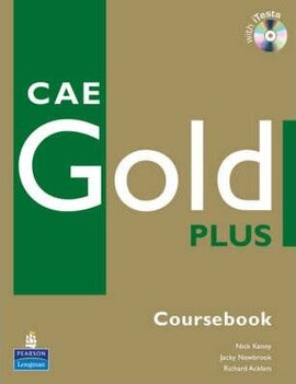 CAE Gold Plus Students' Book CD ROM Pack (підручник) - фото книги