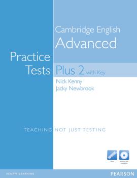 CAE Practice Tests Plus 2 New Edition with key, Multi-ROM, Audio CD Pack (посібник) - фото книги