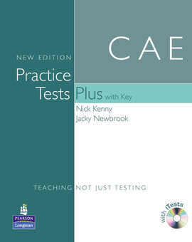 CAE Practice Tests Plus New Edition Students Book with Key/CD Rom Pack (посібник) - фото книги