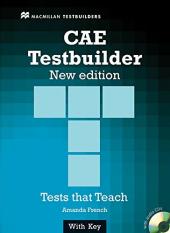 CAE Testbuilder with key and Audio CD - фото обкладинки книги