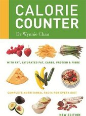 Calorie Counter: Complete nutritional facts for every diet - фото обкладинки книги