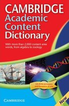 Посібник Cambridge Academic Content Dictionary Reference Book with CD-ROM