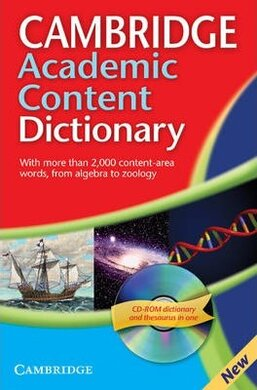 Cambridge Academic Content Dictionary Reference Book with CD-ROM - фото книги