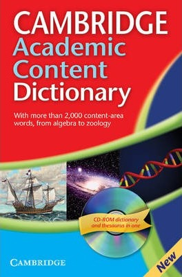 Посібник Cambridge Academic Content Dictionary Reference Book with CD-ROM