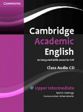 Cambridge Academic English B2 Upper Intermediate Class Audio CD: An Integrated Skills Course for EAP - фото обкладинки книги