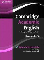Cambridge Academic English B2 Upper Intermediate Class Audio CD: An Integrated Skills Course for EAP - фото обкладинки книги