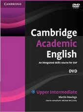 Cambridge Academic English B2 Upper Intermediate DVD: An Integrated Skills Course for EAP - фото обкладинки книги