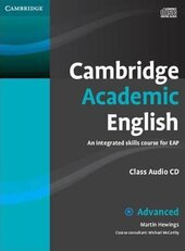 Cambridge Academic English C1 Advanced Class Audio CD and DVD Pack: An Integrated Skills Course for EAP - фото обкладинки книги