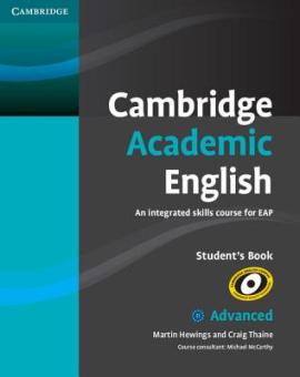 Cambridge Academic English C1 Advanced Student's Book (підручник) - фото книги