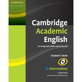 Cambridge Academic English Intermediate Student's Book (підручник) - фото книги