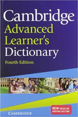 Cambridge Advanced Learners Dictionary 4th edition (словник) - фото книги