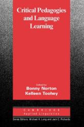 Cambridge Applied Linguistics: Critical Pedagogies and Language Learning - фото обкладинки книги