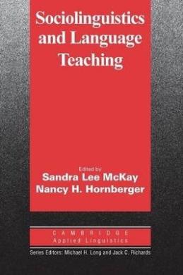 Cambridge Applied Linguistics: Sociolinguistics and Language Teaching - фото книги