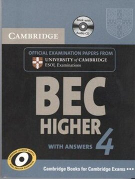 Cambridge BEC 4 Higher Self-study Pack (Student's Book with answers and Audio CD) - фото книги