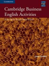 Cambridge Business English Activities: Serious Fun for Business English Students - фото обкладинки книги