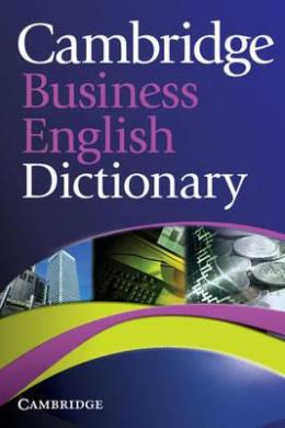 Книга Cambridge Business English Dictionary