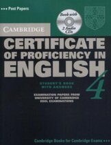 Аудіодиск Cambridge Certificate of Proficiency in English 4 Self Study Pack