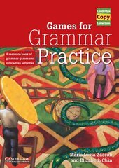 Cambridge Copy Collection: Games for Grammar Practice: A Resource Book of Grammar Games and Interactive Activities - фото обкладинки книги
