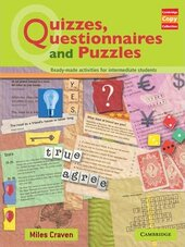 Cambridge Copy Collection: Quizzes, Questionnaires and Puzzles - фото обкладинки книги