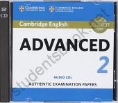 Cambridge English Advanced 2 Audio CDs (2) - фото обкладинки книги