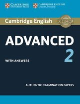 Аудіодиск Cambridge English Advanced 2 Student's Book with answers