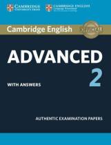 Аудіодиск Cambridge English Advanced 2 Student's Book with answers