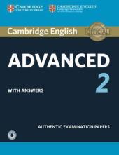 Cambridge English Advanced 2 Student's Book with answers and Downloadable Audio (підручник) - фото обкладинки книги