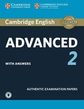 Cambridge English Advanced 2 Student's Book with answers and Downloadable Audio (підручник) - фото обкладинки книги