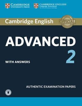Cambridge English Advanced 2 Student's Book with answers and Downloadable Audio (підручник) - фото книги