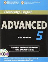 Аудіодиск Cambridge English Advanced 5 Self-study Pack