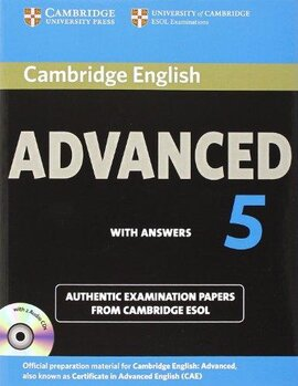Комплект книг Cambridge English Advanced 5 Self-study Pack