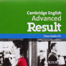 Cambridge English Advanced Result: Class Audio CD (аудіодиск) - фото книги