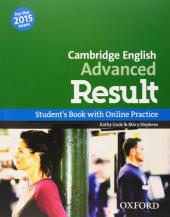 Cambridge English Advanced Result: Student's Book with Online Skills Practice (підручник) - фото обкладинки книги